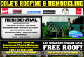Cole's Roofing & Remodeling