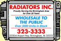 Radiators Inc