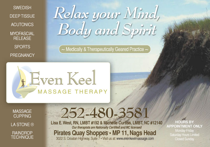 Even Keel Massage Therapy - Nags Head, NC