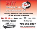 24/7 Heating & Air Conditioning Inc